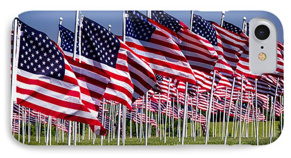 Field Of Flags For Heroes IPhone Case