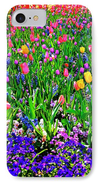 Field Of Flowers Phone Case by Tamyra Ayles