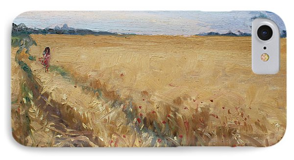 Field Of Grain In Georgetown On IPhone Case