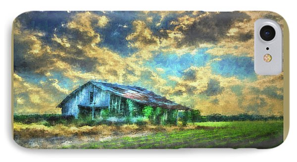 Field Of Green IPhone Case by Marvin Spates
