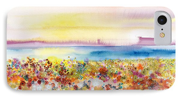 Field Of Joy IPhone Case by Tara Thelen - Printscapes