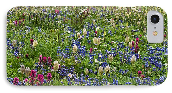 Field Of Wildflowers Phone Case by Greg Vaughn - Printscapes