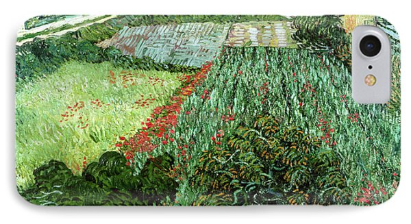Field With Poppies IPhone Case by Vincent Van Gogh