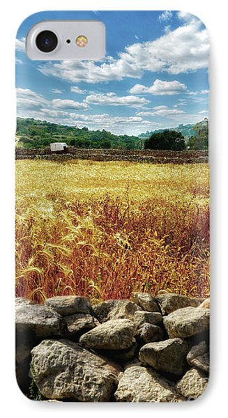 Fields Of Gold IPhone Case by Stephan Grixti
