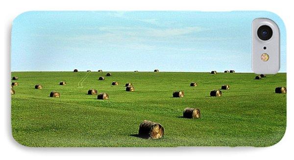 Fields Of Green IPhone 7 Case by Mark Mickelsen