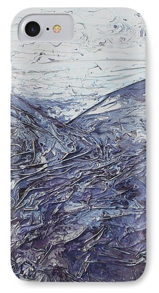 Fields Of Lavender IPhone Case by Angela Stout