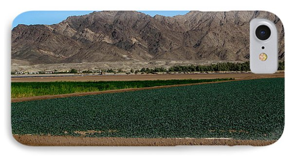 Fields Of Yuma IPhone Case by Greg Patzer