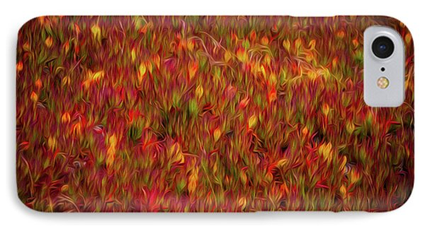 Fields On Fire IPhone Case by Doug Sturgess