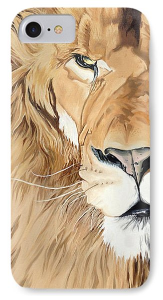 Fierce Protector IPhone Case by Nathan Rhoads