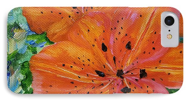 IPhone Case featuring the painting Fierce Tiger by Judith Rhue