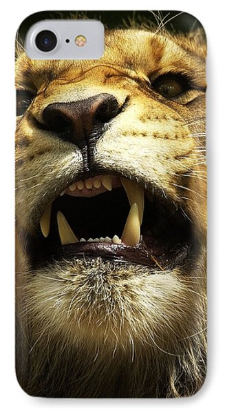 Fierce IPhone Case by Wade Aiken