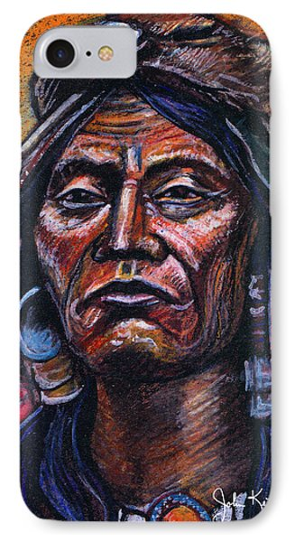 Fierce Warrior Phone Case by John Keaton