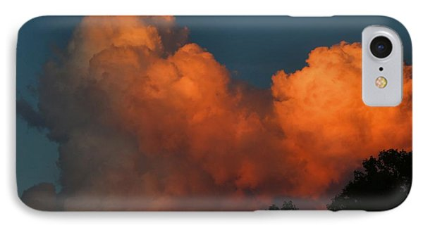 Fiery Cumulus IPhone Case