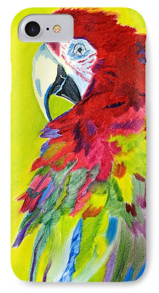 Fiery Feathers IPhone Case by Meryl Goudey