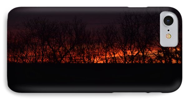 Fiery Kansas Sky IPhone Case