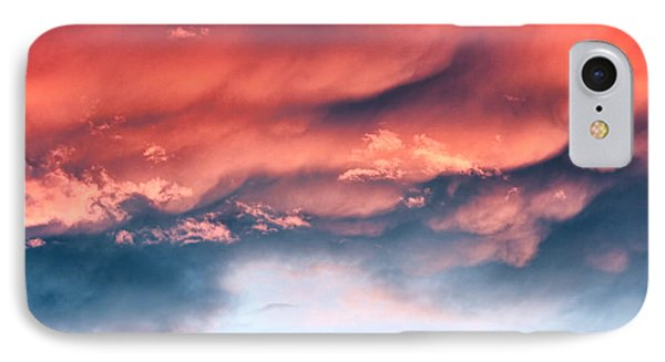 Fiery Storm Clouds Phone Case by Tracie Kaska