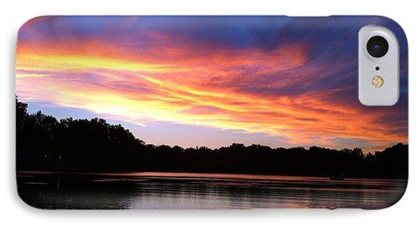 Fiery Sunset IPhone Case by Jason Nicholas
