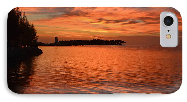 Fiery Sunset Reflections IPhone Case