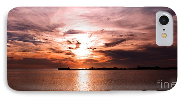 Fiery Tranquility  IPhone Case by Rebecca Davis