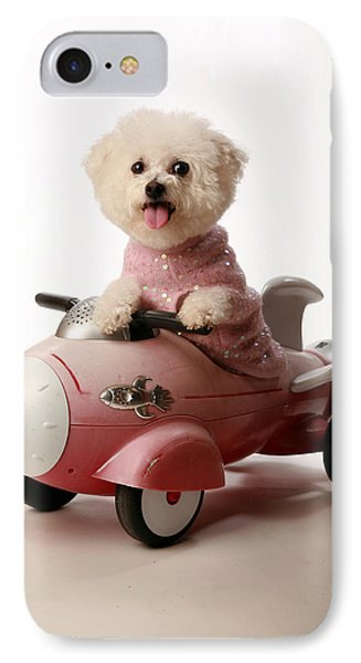 Fifi Ready For Take Off Phone Case by Michael Ledray