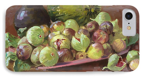 Figs And Cantaloupe Phone Case by Ylli Haruni