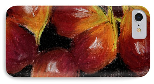 IPhone Case featuring the painting Figs by Linde Townsend