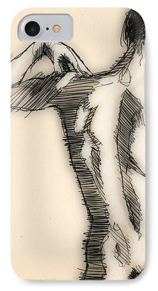 Figure Study IPhone Case