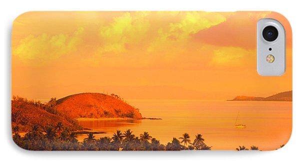 Fiji Mana Island Phone Case by Dave Fleetham - Printscapes