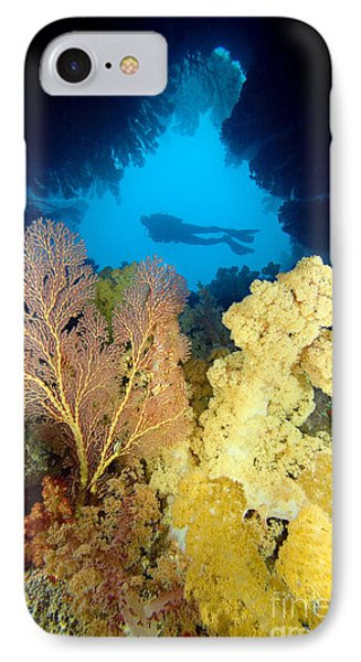Fiji Underwater Phone Case by Dave Fleetham - Printscapes