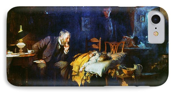Fildes The Doctor 1891 IPhone Case by Granger