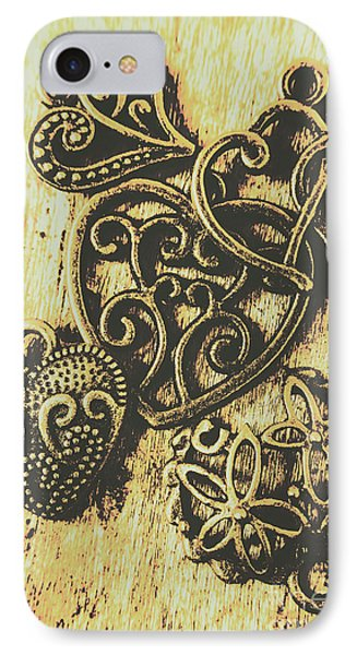 Filigree Love IPhone Case by Jorgo Photography - Wall Art Gallery