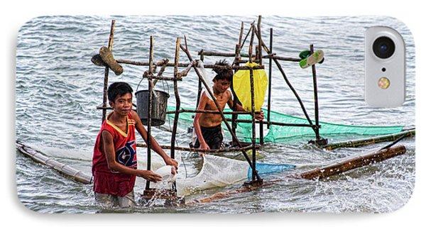 Filipino Fishing Phone Case by James BO  Insogna