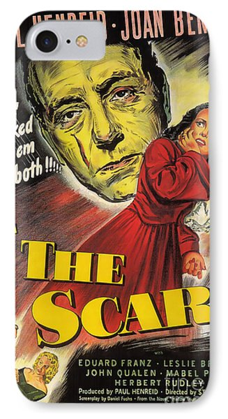 Film Noir Poster  The Scar IPhone Case