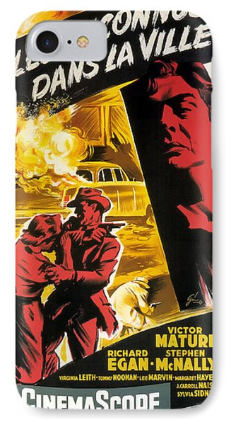 Film Noir Poster   Violent Saturday IPhone Case