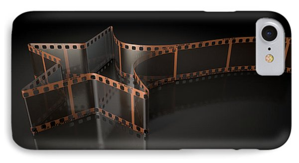 Film Strip Shooting Star Curled IPhone Case