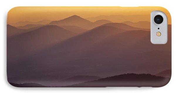 Filtered Light On The Blue Ridge Parkway Phone Case by Rob Travis
