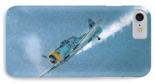 Final Dive World War Two Airplane  Phone Case by Randy Steele