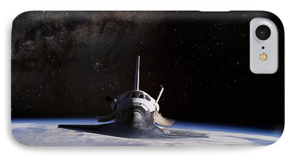 Final Frontier IPhone 7 Case by Peter Chilelli