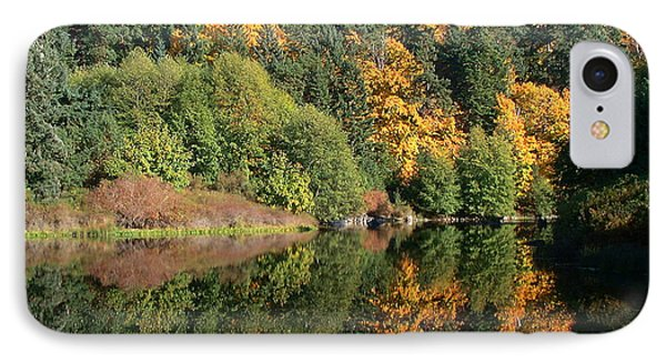 IPhone Case featuring the photograph Final Reflection by Larry Keahey