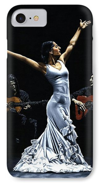 Finale Del Funcionamiento Del Flamenco IPhone Case