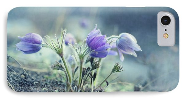 Finally Spring IPhone Case by Priska Wettstein