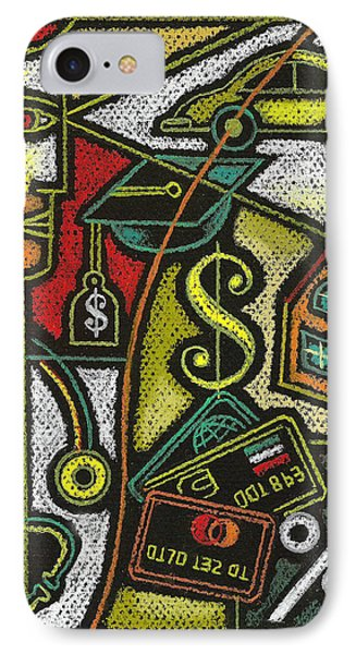 Finance And Medical Career IPhone Case by Leon Zernitsky