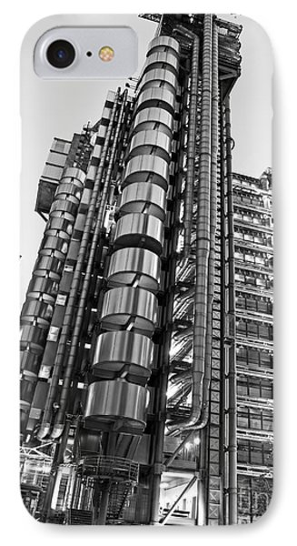 Finance The Lloyds Building In The City Phone Case by Chris Smith