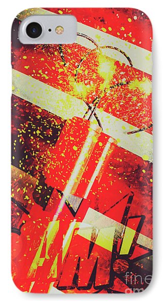 Financial Meltdown Coming Soon IPhone Case by Jorgo Photography - Wall Art Gallery