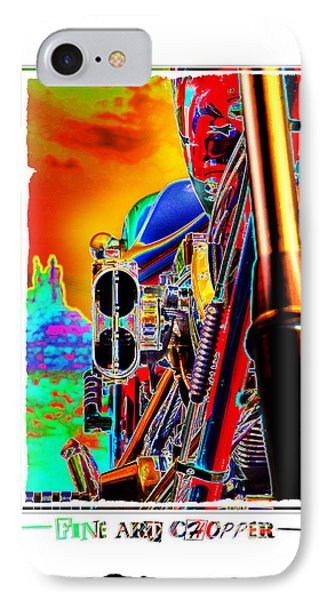 Fine Art Chopper I Phone Case by Mike McGlothlen