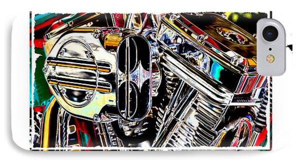 Fine Art Chopper II Phone Case by Mike McGlothlen