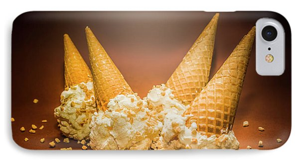 Fine Art Ice Cream Cone Spill IPhone Case by Jorgo Photography - Wall Art Gallery
