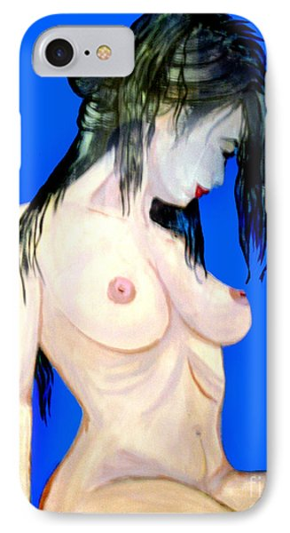 Fine Art Nude IPhone Case by Tbone Oliver