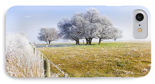 Fine Art Winter Scene IPhone Case by Jorgo Photography - Wall Art Gallery