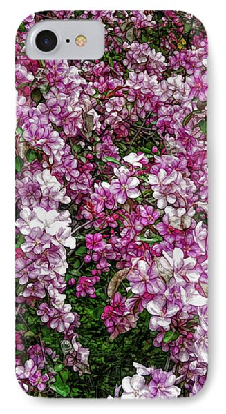 IPhone Case featuring the photograph Fine Wine Cafe Beautiful Blossoms by Aimee L Maher Photography and Art Visit ALMGallerydotcom